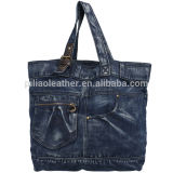 Fashionable Style Ladie's Jeans Bag, Jeans Beach Bag, Jeans Tote Bag