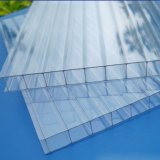 2018 Hot Sell PC Twin Wall 6mm Thick Polycarbonate Hollow Sheet