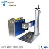 20W 30W Portable Metal Fiber Laser Marking Engraving Machine with Best Price