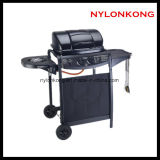 Wholesale Outdoor Movable Charcoal Gas Stove BBQ Grills