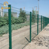 PVC Coated Green Red Yellow Color 3D Metal Wire Mesh Fence Panels