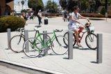 Aluminum Texture Powdercoat Capital Bike Rack/Bay City Bicycle Stand