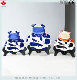 Creamic Crafts Holland Cow Design Wall Clock Home Decoration