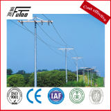 Single Circuit Galvanized 33kv Power Pole