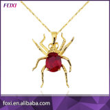 Featured Spider Design Gold Pendant Necklace for Women