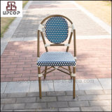 French Style Outdoor Restaurant Cafe Aluminum Rattan Chair (SP-OC443)