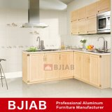 Yellow Sandalwood Modern Metal Home Furniture Aluminum Kitchen Cabinet