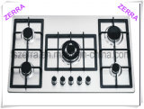 Hot Sell Gas Hob with Stainless Steel Panel (JZS56001)
