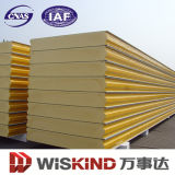 Low Price Insulated Polyurethane /PU Rock Wool EPS Sandwich Panel