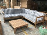 High Quality Wooden Sofa Set Designs Teak Outdoor Sofa