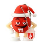 Wholesale 4GB Thumb Drives Cartoon Gift for Christmas