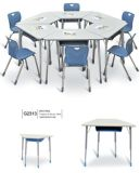 Popular Training Room Trapezoid Table School Furniture