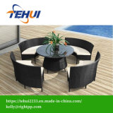 outdoor Furniture Rattan Dining Sets for 8 Peoples
