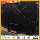 Cheap Natural Nero Marquine Marble Black Marble for Wall and Floor
