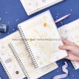Custom Design Wire-O PVC Softcover Notebook Printing Service