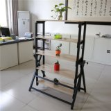 5 Level Metal Steel Cheap Flower Display Rack Cantilever Racking Storage Shelves