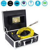 Underwater CCTV 120 Degree View HD Sewer Push Pipe Inspection Camera with 20/30/40/50m Fiberglass Cable