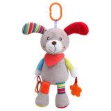 Hot Sale Stuffed Baby Plush Doll Custom Toy Animal Rattle Baby Toy