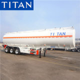 3 Axles 30000/40000/50000 Liters Oil/Diesel/Gasoline/Crude/Water/Milk/Propane Transport Steel Monoblock Fuel Tank/Tanker Truck Semi Trailer for Sale Price