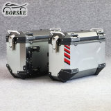 Motorcycle Aluminum Alloy Case 37L Universal Motorcycle Side Top Box for BMW Suzuki Honda Cfmoto Zontes