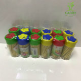 Japanese Disposable Bamboo Toothpicks 200 PCS/Box (2.0*65mm) for Sushi
