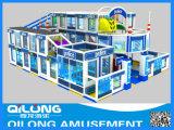 New Police Design Plastic Playground Equipment (QL-150511C)