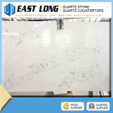 Calacatta White Marble Look Qu White Artificial Quartz Stone