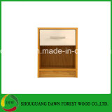 New Design One Drawer MFC MDF Bedroom Cheap Bedside Table