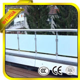 10mm 12mm Safe and Transparent Balcony Railing Laminated Glass with Building Price