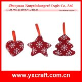 Christmas Decoration (ZY15Y067-1-2) Christmas Tree Decoration - Heart, Star, Tree