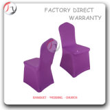 Spandex Smooth Purple Fabric Banquet Chair Cover (YT-53)