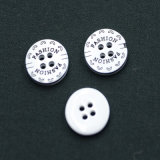 4 Holes New Design Polyester Button (S-038)