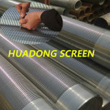 0.5mm Slot Wedge Wire Oil Filter Screens Manufacturers/Stainless Steel Johnson Filter