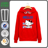 Red Fleece Cheap Fashion Men Hoodie Jacket Cotton Made in China Customise Logo Good Quality