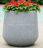 Fiberglass Reinforced Plastic Flower Terrazzo Planter/Pots for Garden Decoration