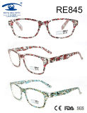 Fashion Light Patten Women High Quality Reading Glasses (RE845)