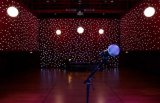 LED Star Curtain Decorated for Christmas Family Reunion Party Wedding Great Quality