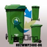 Eco-Friendly Waste Disposal Used 240L Plastic Outdoor Trash Can