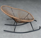Contemporary and Contracted Outdoor Leisure Furniture Creative New Balcony Bedroom Rocking Chair The Cane Makes up Bb Chair (M-X3550)