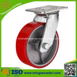 "Heavy Duty 6"" Swivel Cast Iron Wheels for Hand Trolley"