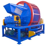 Whole Tire Shredder Waste Tire Recycling Plant Crusher Machine