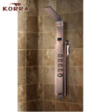 Stainless Steel Shower Panel, Shower Column with Temperature Display (K2216-1)