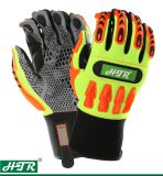 Anti-Slip Impact Resistant Mechanical Safety Work Glove with TPR