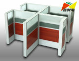Modern T8 India Style Office Workstation Desk with Screen Partition