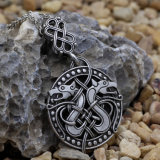 Odin Sleipnir Viking Pendant Necklace Dragon Valknut Necklace Pendant Dragon Christmas Gift for Best Friend Drop Shipping