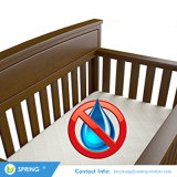 Made with Eco-Friendly Bamboo Rayon Fiber Hypoallergenic Waterproof Crib Mattress Protector