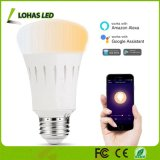 A19 9W E26 WiFi Light Tunable 2000K-6500K Smart Phone Controlled Light Bulb