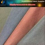 Microfiber Polyester/Nylon Blended 0.15cm Check Jacket Fabric