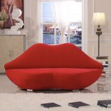 Red Lip Shaped Fancy Bocca Sofa