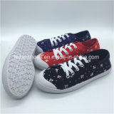 Hotsale Women Injection Canvas Shoes Casual Shoes with Good Price (HP0315-4)